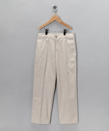 Khaki Twill Pants - Infant, Toddler & Boys