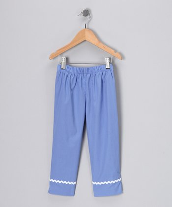 Blue Capri Pants - Infant & Toddler