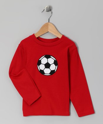 Red Soccer Tee - Infant