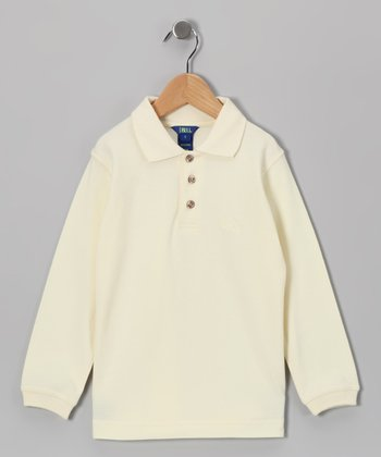 Oatmeal Polo - Infant, Toddler & Boys