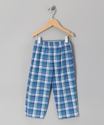 Royal Blue Plaid Pants - Infant & Boys