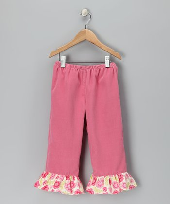 Rose Ruffle Pants - Toddler & Girls