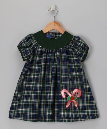 Green Candy Canes Dress - Infant & Toddler