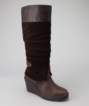 Chocolate Brown Mirage Boot - Women