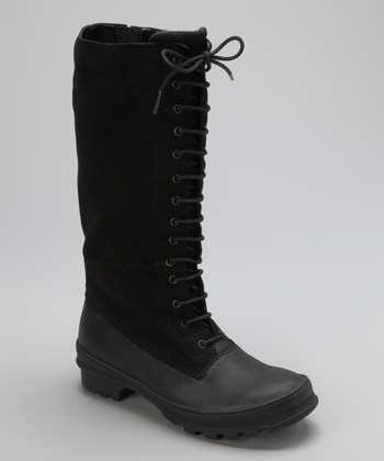 Black Portico Boot - Women