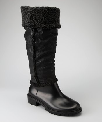 Black Sherpa Boot