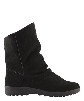 Black Suede Vasco Boot