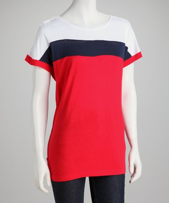 Red Rouge Top