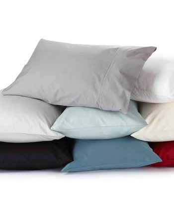 Sateen Organic Pillowcase - Set of Two
