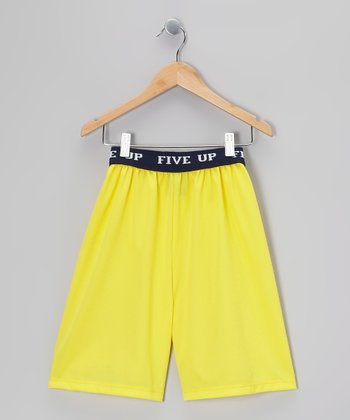 Yellow Pajama Shorts - Boys
