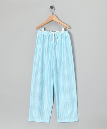 Aqua Lizzie Pajama Pants - Girls