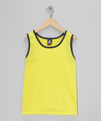 Yellow & Black Tank - Boys