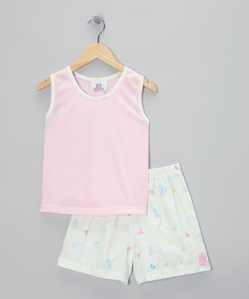 Pink Hug Pajama Set - Toddler
