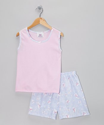 Pink Purrfect Pajama Set - Toddler