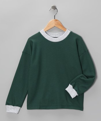 Green Thermal - Toddler & Boys