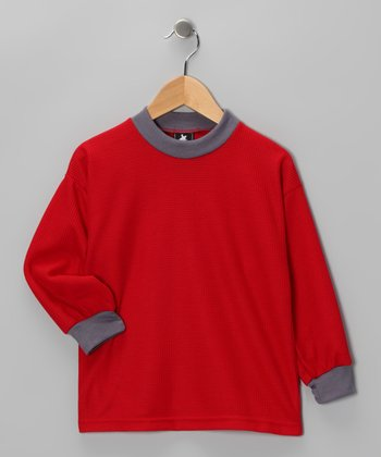 Red Thermal - Toddler & Boys