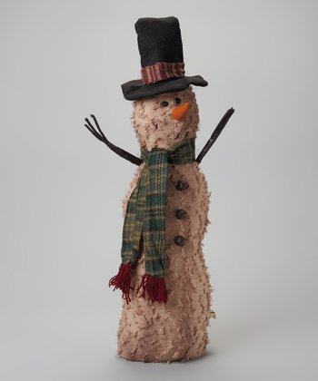 Top Hat Snowman Figurine