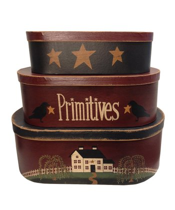 'Primitives' Paper Box Set