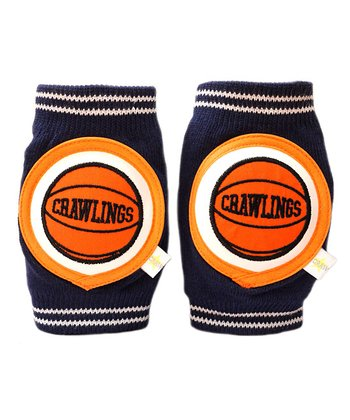 Navy Basketball Knee Pads