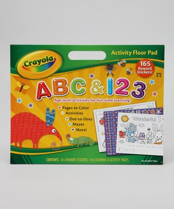 ABC & 123 Activity Floor Pad