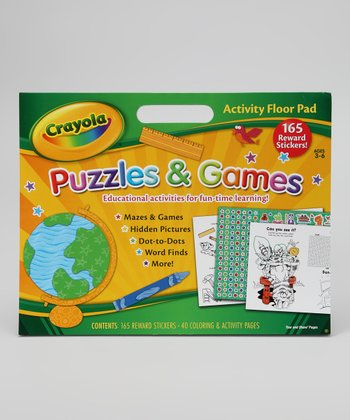 Puzzles & Games Activity Floor Pad