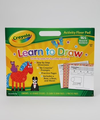 Learn to Draw Activity Floor Pad