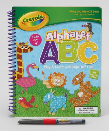 Alphabet Dry-Erase Activity Book