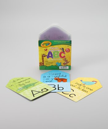 ABC Dry-Erase Flash Cards