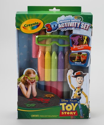 Toy Story 3-D Sidewalk Art Set