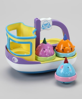Tadoodles Tub Boat Bathtub Crayon Set