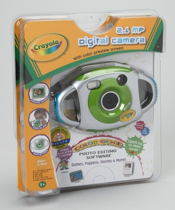Crayola Green 2.1 Megapixel Digital Camera Set