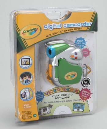 Crayola Green VGA Digital Camcorder Set