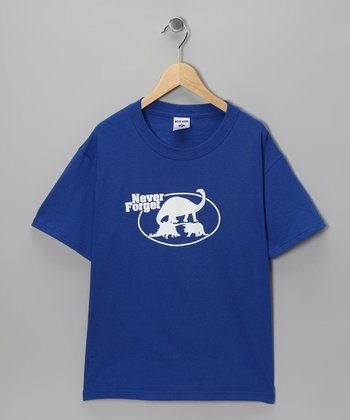 Royal Blue 'Never Forget' Tee - Kids & Adult