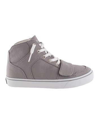 Gray Hi-Top Sneaker - Kids