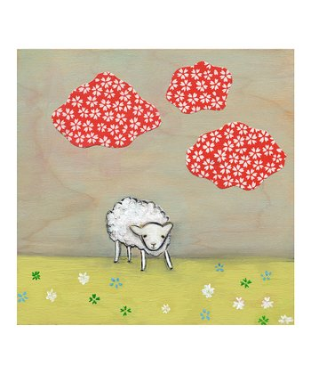 A Confident Sheep Print