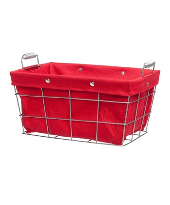 Large Red Storage Basket