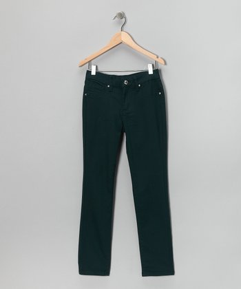 Peacock Skinny Pants - Girls