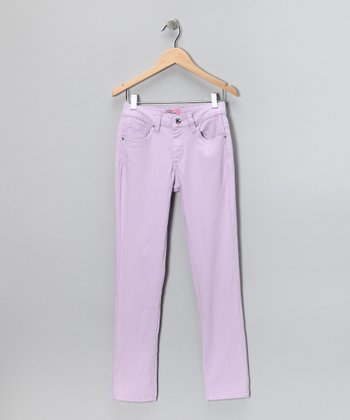 Lilac Skinny Pants - Infant & Girls
