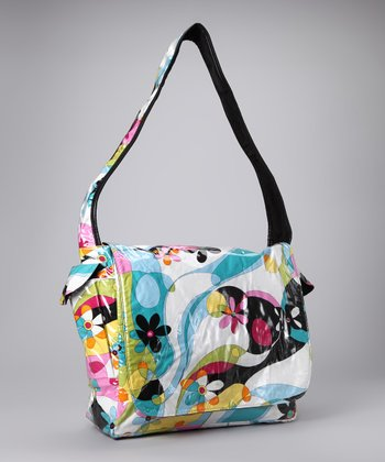 Flower Power Logan Messenger Bag