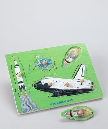 Space Adventure Wood Puzzle