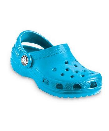 Crocs Electric Blue Classic Clog - Kids