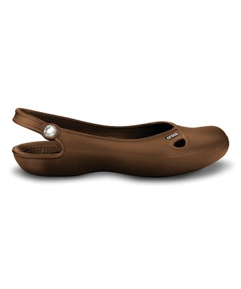 Brown Olivia Flat - Women