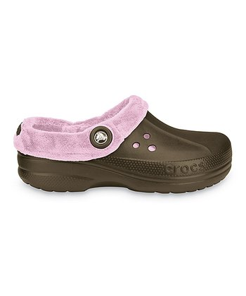 Chocolate & Bubble Gum Blitzen Polar Clog - Women
