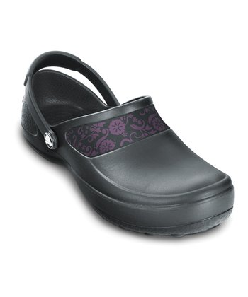 Graphite & Lilac Mercy Work Clog - Women