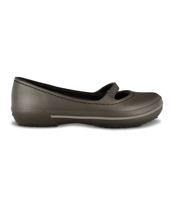Espresso Crocband Winter Flat - Women