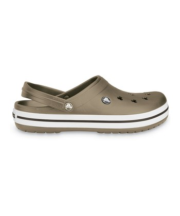 Khaki Crocband Mickey Clog - Men & Women