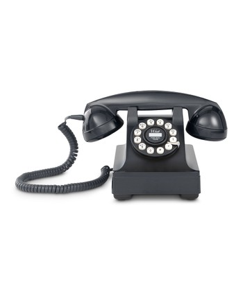 Black Kettle Desk Phone