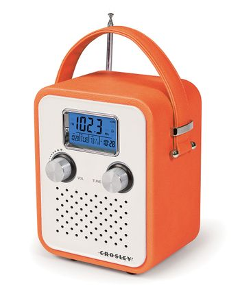 Orange Songbird Radio