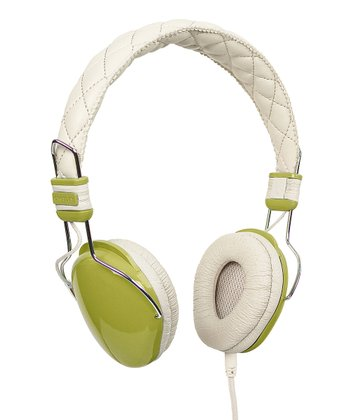Green Amplitone Headphones