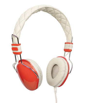 Orange Amplitone Headphones